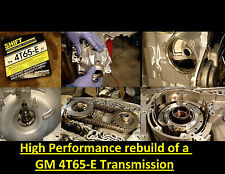 HP DVD VIDEO TRANSMISSION REBUILD MANUAL 4T65E-HD 4T65EHD TRANS HIGH PERFORMANCE