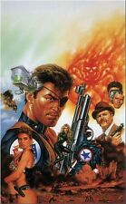 "Nick Fury Agent of SHIELD by Joe Jusko Lithograph Print Poster 18"" x 24"""