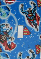 SUPERMAN  SINGLE Switch plate Single toggle   LIGHT SWITCH COVER PLATE