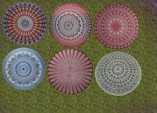 5 Pcs Lot Wholesale Round Mandala Tapestry Wall Hanging beach Yoga Mat Tapestry