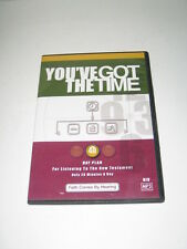 You've Got the Time 40 Day Plan MP3 CD For Listening to the New Testament