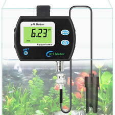 LCD Digital pH Monitor With Replaceable BNC pH Probe For Aquarium