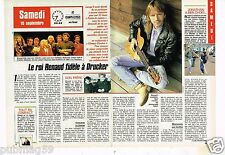 Coupure de presse Clipping 1988 (2 pages) Renaud Sechan