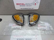 Toyota Tacoma Left & Right Front Marker Parking Lamps Genuine OEM OE