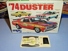 MPC VINTAGE ANNUAL 1974 PLYMOUTH DUSTER #1-7426-250 1/25 AMT DECAL SHEET ONLY
