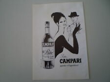 advertising Pubblicità 1964 BITTER CAMPARI