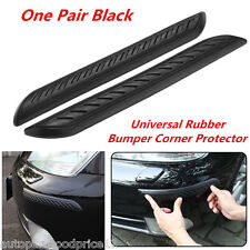 2Pcs Car Rubber Bumper Corner Protector Anticollision Scratchproof Guard Cover