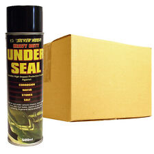 12 x Heavy Duty UNDER SEAL Under Body Guard Water Proof Protection Spray 500ml