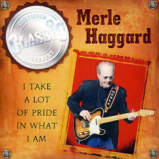 I Take a Lot of Pride in What I Am Haggard, Merle MUSIC CD