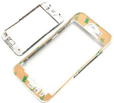 BIANCO iPhone 5 5G TOUCH SCREEN LCD Middle Frame Plastica Staffa con adesivo 3M
