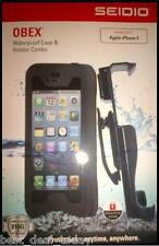 OEM Seidio Obex Waterproof Case&Holster Combo For Apple Iphone 5 5S Verizon AT&T