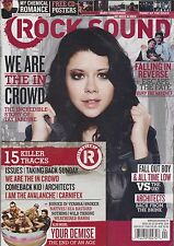 ROCK SOUND Magazine #185 4/2014 TAY JARDINE My Chemical Romance + CD + POSTERS