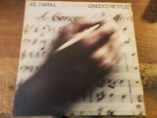 JOE ZAWINUL  -  CONCERTO RETITLED  LP