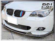HM Style Carbon Fiber Front Lip fit BMW E60 525i 528i 535i 550i w/ M Tech Bumper