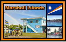 MARSHALL ISLANDS - SOUVENIR NOVELTY FRIDGE MAGNET - BRAND NEW - GIFT
