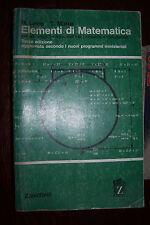 Elementi di matematica di Levis e Marra ed. Zanichelli 1970