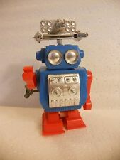 Vintage Robot Windup Toy - Works Well - Radar Moves