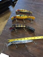 4 Antique Large Fishing Lures