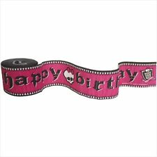 MONSTER HIGH CREPE PAPER STREAMERS ~ Birthday Party Supplies Hanging Decorations