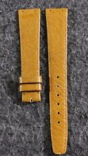 New Zenith Genuine Leather Academy Dark Tan 18mm Watch Band