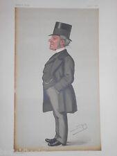 Hardinge Stanley Giffard, 1st Earl of Halsbury: June 22nd 1878 Vanity Fair Print