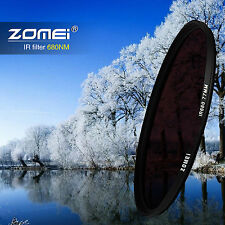 ZOMEI 62mm IR INFRARED FILTER 680nm 68IR for Sony Canon Nikon Pentax Hoya lens