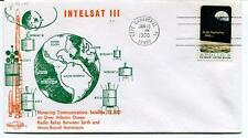 1970 Intelsat III Hovering Communications Satellite Atlantic Ocean Radio Relay