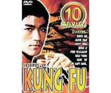 LEGENDS OF KUNG FU (DVD SET) Bruce Lee 10 Movies films lot SEALED NEW