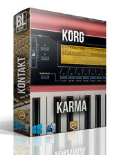 KORG KARMA LIBRARY LOGIC PRO KONTAKT MPC WAV SAMPLES MAC PC