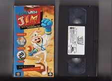 Earthworm Jim Vol. 1 VHS 2 episodes OOP Video Game Animated Series