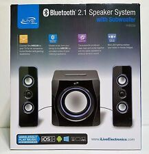 iLive IHB23B Wireless Bluetooth 2.1 Speaker System with Subwoofer