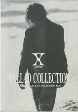 X Japan Band score Book Japanese   BALLAD COLLECTION