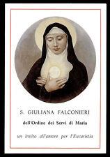 santino-holy card*S.GIULIANA FALCONIERI