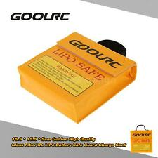 GoolRC 15.5*15.5*5cm RC LiPo Battery Safety Bag Safe Guard Charge Sack NM Y2T2