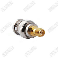 5x SMA-BNC adapter SMA female Jack to BNC Plug Male straight adapter connector