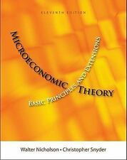 Microeconomic Theory: Basic Principles And Extensions 11/E Int'L Edition