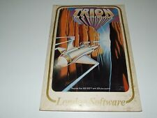 TRION  by LONDON SOFTWARE (disk) RARE!  New old stock for ATARI 400 800 XE XL