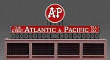 A&P Atlantic & Pacific Animated Billboard Sign for N HO Scale Miller 440152