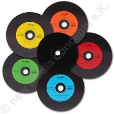 50 COLORATO Etichetta Schallplattendesign vinile CD vuoti - Carbonio 700 MB