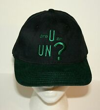 Vintage 1998 7UP UnCola Are U an UN? Soda Baseball Cap Hat New NOS OSFA Tag