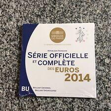 Coffret complet BU France 8 pièces 2014
