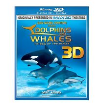 Dolphins and Whales 3D: Tribes of the Ocean (3D Blu-ray Disc, 2011)Region Free