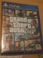 GRAND THEFT AUTO FIVE V 5 GTA5 + $2.5 MILLION IN-GAME MONEY (PS4) NEW & SEALED