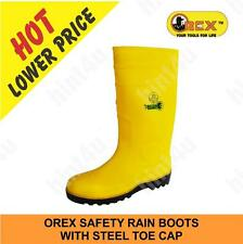 OREX SAFETY RAIN BOOTS  WITH STEEL TOE CAP
