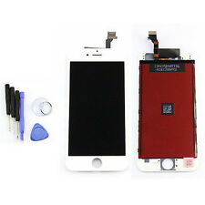 White Touch Digitizer LCD Screen Assembly For iPhone 6 Replacement 6 4.7''