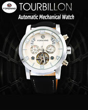 Forsining Male Tourbillon Automatic Mechanical Watch Orologio Automatico Uomo
