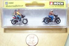 HO Noch 15904 TWO Motorcycles with Three Rider Figures