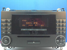 MERCEDES-BENZ mf2550 Autoradio Lettore CD w169 Classe A
