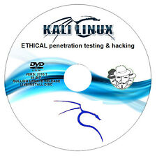 KALI Linux 2016.2 64BIT - Ethical Hacking/Penetration Test PC DVD - Mr.Robot