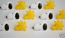 12 Peanuts Snoopy Woodstock Cup Cake Rings Topper Party Goody Bag Favor Supply